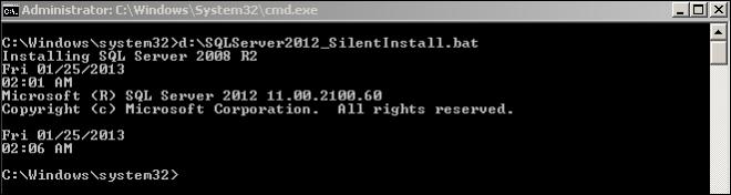 SQL Server got installed