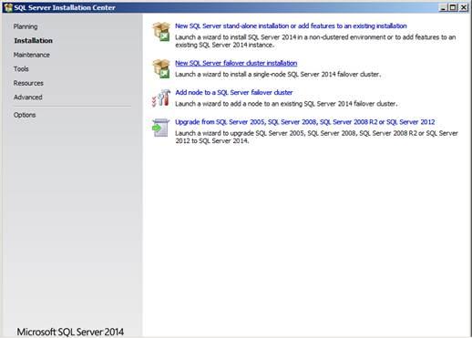 SQL Server 2014 Cluster Installation Steps - SQLServerCentral