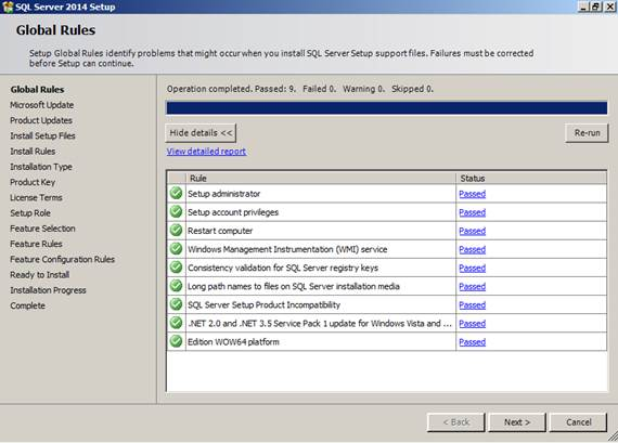 SQL Server 2014 – How to add features to existing instance