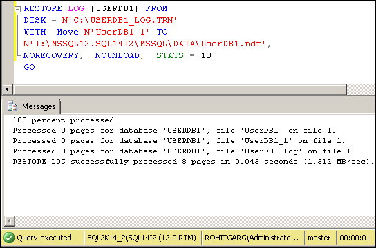 Add Database File on Database invloved in DB Mirroring
